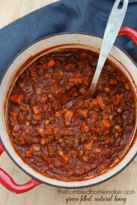 Instant Pot Sweet Potato Chili Recipe