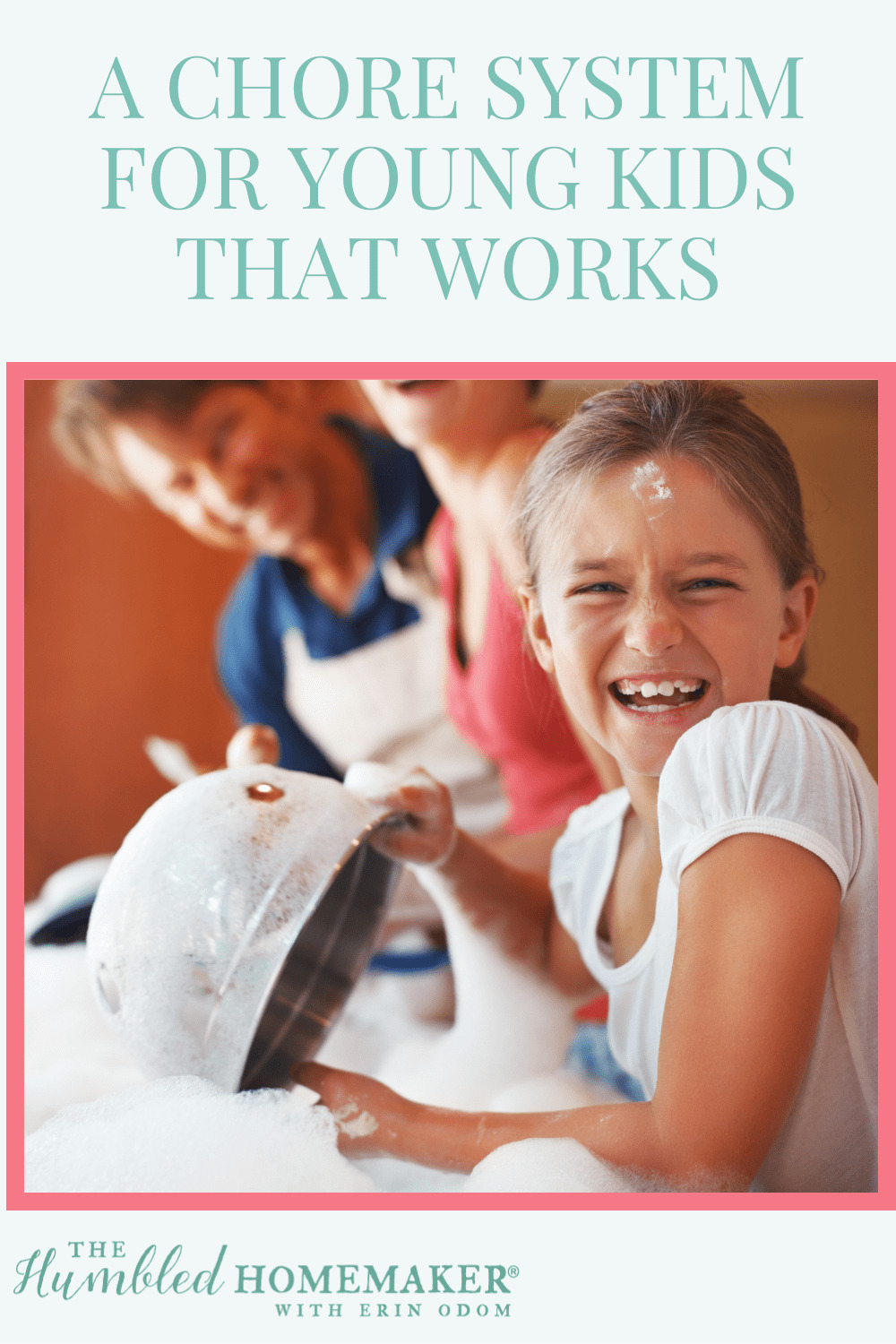 Are you confused as how to get your kids started with chores? Do you pay them or not? What is the best way to teach kids responsibility at home? We're excited to share a chore system for young kids that works for our family!