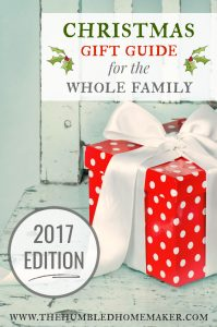 We hope this gift guide, which includes gifts you can buy ONLINE–without leaving your house–will help take the stress out of holiday shopping!