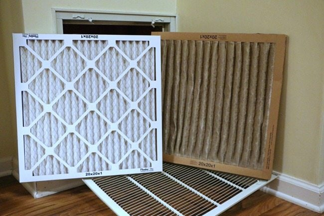 clean vs dirty air filters