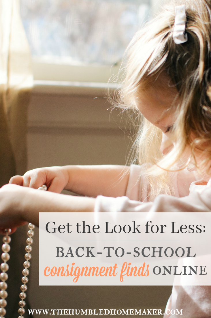 Shop back-to-school consignment without leaving home! Schoola is my new favorite company for scoring name-brand children's clothing at a HUGE discount!