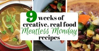 Looking for Meatless Monday meal ideas? Check out these 9 ideas for a lot more than pasta or green salads!