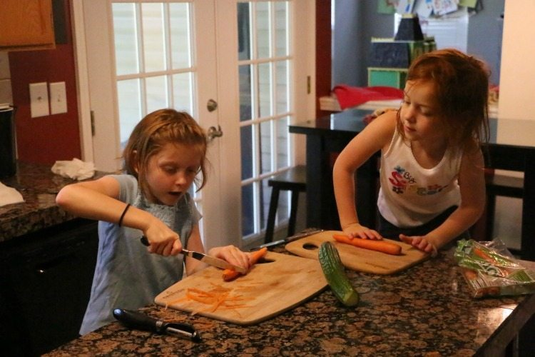 You can teach kids to cook!