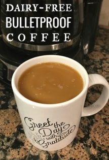 dairy free bulletproof coffee