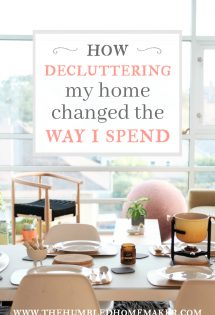 How Decluttering My Home Changed the Way I Spend