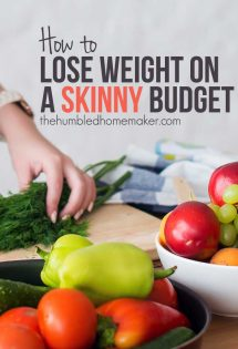 These are the steps I took to start a diet on a budget and lose weight at last!