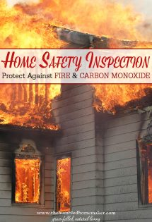Have you ever conducted a home safety inspection in your house? Keep these steps in mind to protect against fire and carbon monoxide poisoning!