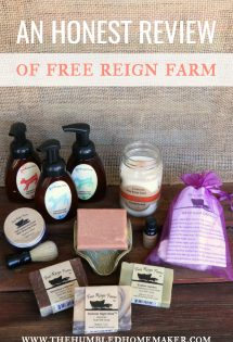 Will and I use Free Reign Farm in our home every single day. This is why we love it.