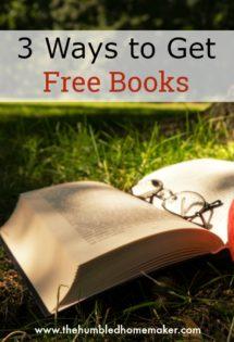 get free books