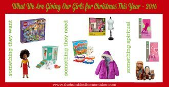 what we're getting our girls for christmas this year