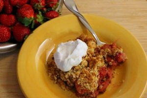 Gluten Free Strawberry Cobbler Recipe (Dairy-Free, Sugar-Free, THM)