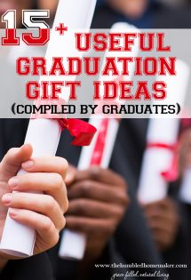 Will is backwith a great round-up of graduation gift ideas for the special graduate in your life!