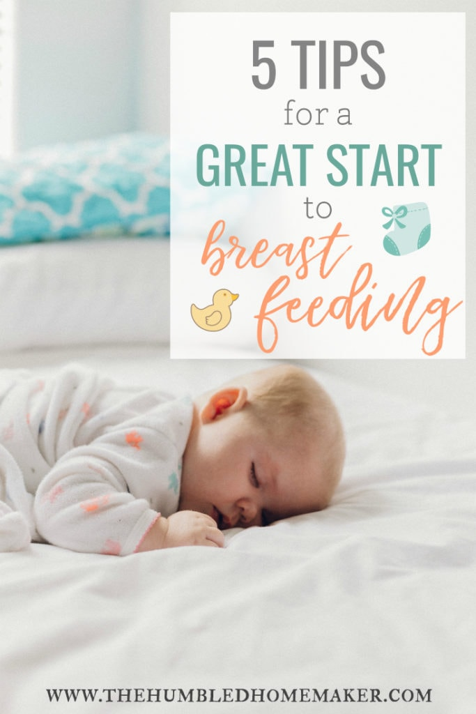 great start to breastfeeding