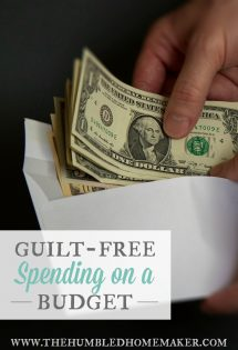Try a zero-sum budget to gain traction with your financial goals. You might even find you can enjoy guilt-free spending on a budget, because every dollar you earn has a category and you've built in margin for every expense!