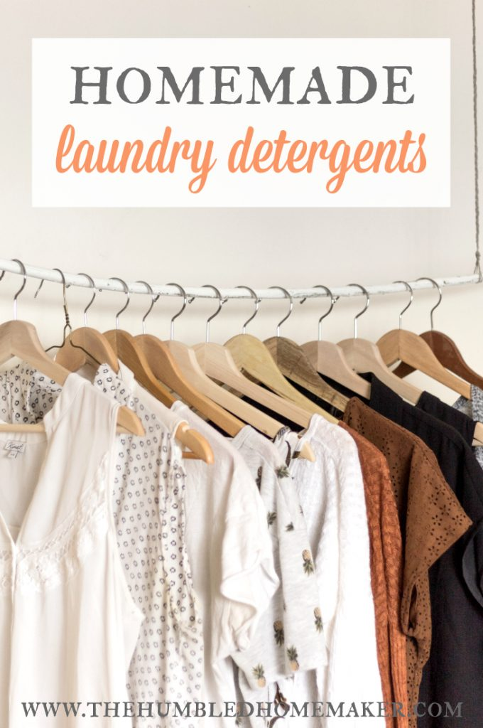 5 Homemade Laundry Detergents: The