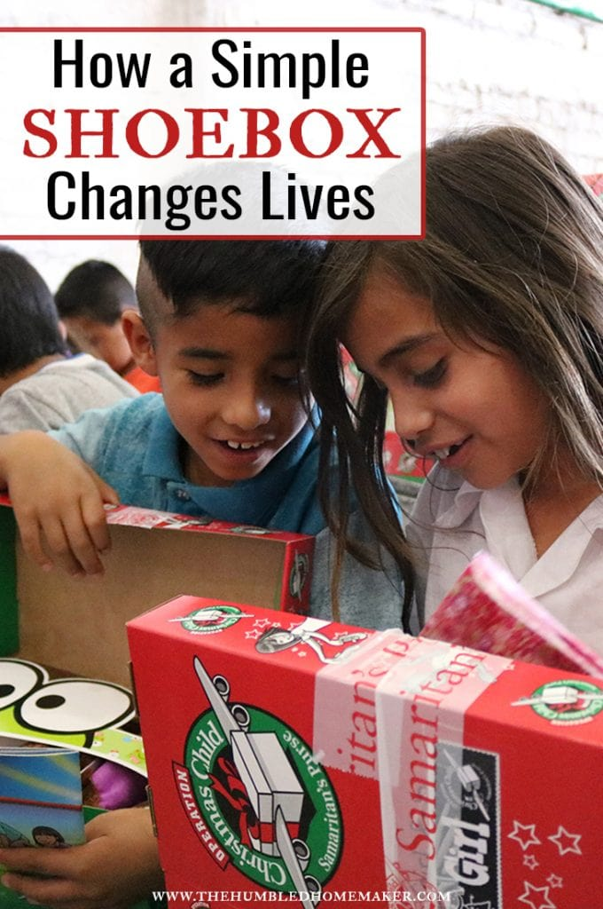 Here's a firsthand account of how an Operation Christmas Child shoebox can change lives!