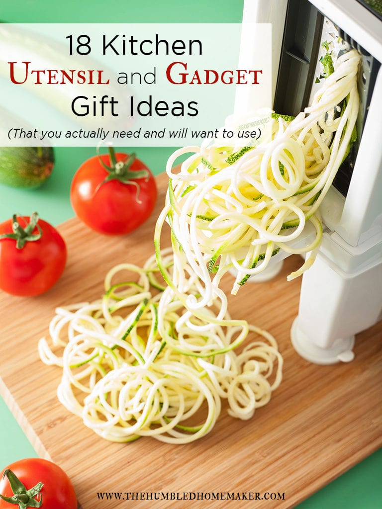 18 kitchen utensil and gadget gift ideas that you actually need and will want use