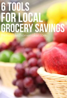Try these six simple tips to max out your local grocery savings this year. You can eat clean and healthy with this easy 20-minute grocery savings checklist!
