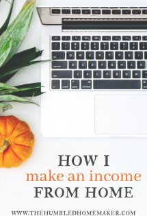 How I Make an Income from Home