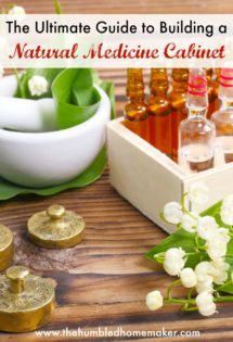 a comprehensive guide on how to build a natural medicine cabinet