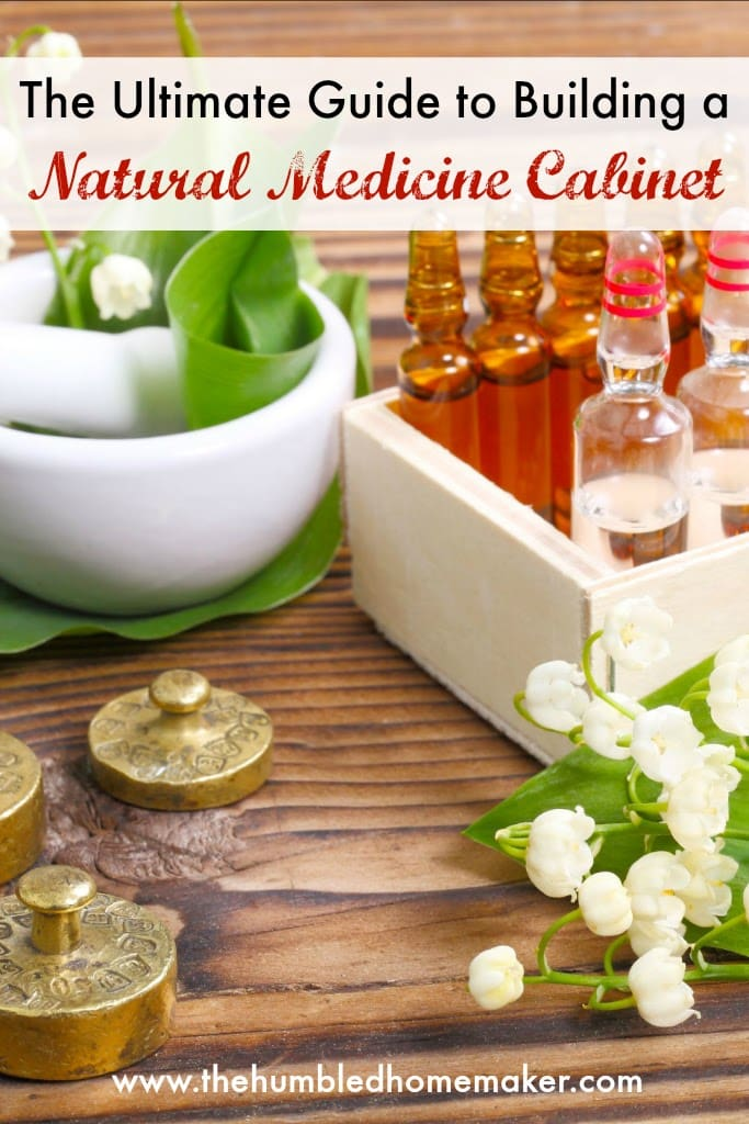 This guide to building a natural medicine cabinet will give you all the tools you need to stock your own natural medicine cabinet!