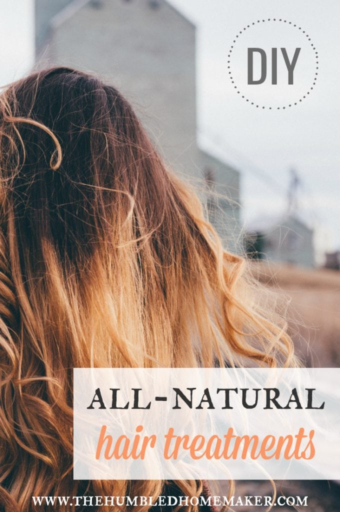 Get beautiful, luxurious hair without using toxic chemicals! Check out these natural DIYs for
