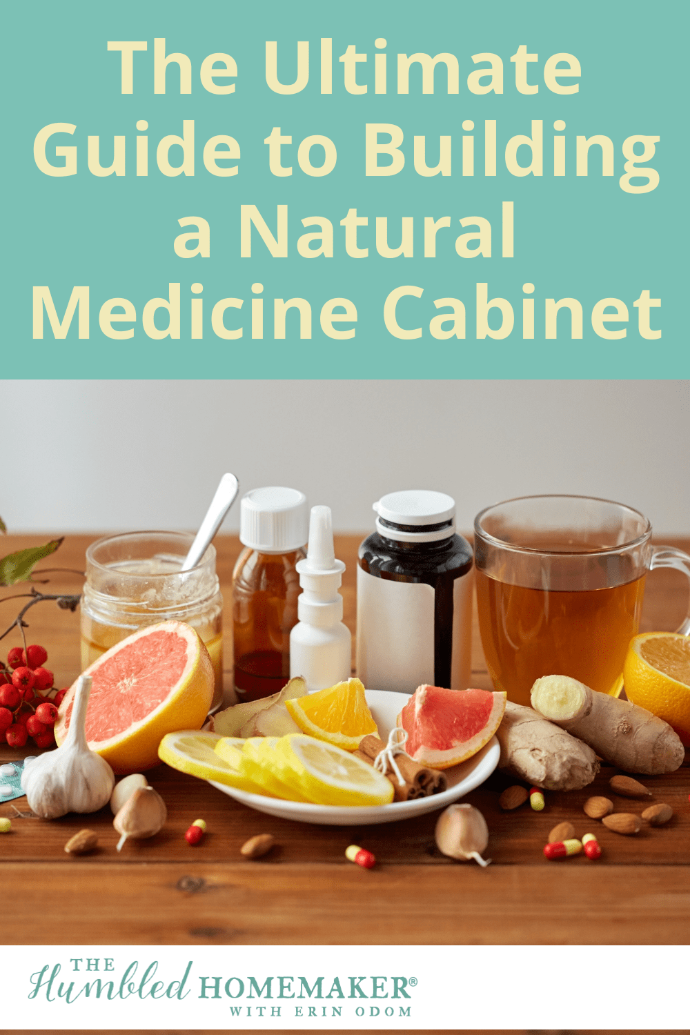 This comprehensive guide to building a natural medicine cabinet will give you all the tools you need to stock your own natural medicine cabinet!