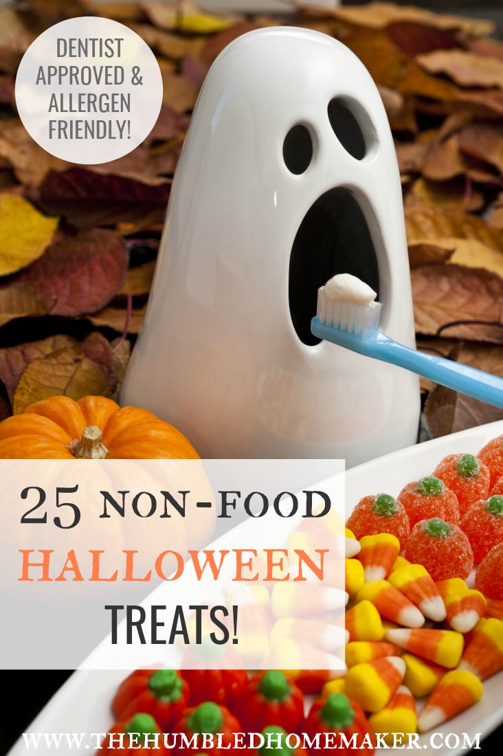25 Allergy Friendly Non-Food Halloween Treats