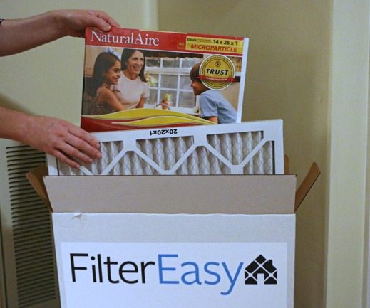 opening up filter easy box