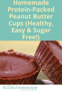 These homemade chocolate peanut butter cups are dairy, sugar, and gluten free...and they're packed with protein! I love this healthy snack even better than Reese's!