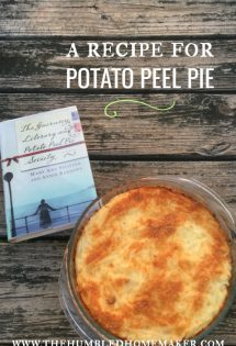 Potato Peel Pie Recipe
