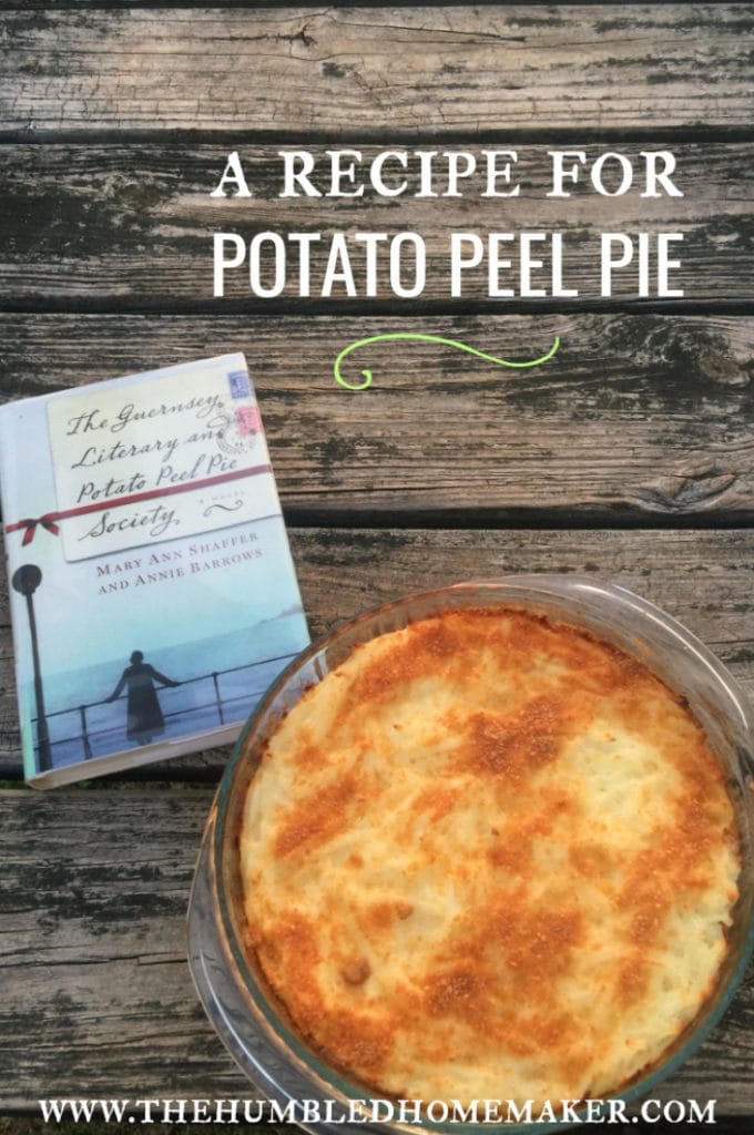 "While reading the popular novel The Guernsey Literary and Potato Peel Society, I knew I would want to create my own version of the potato peel pie. While it's not the exact same pie that is depicted in the novel, I'm excited to share that my version turned out to be a delicious breakfast or brunch potato ""peel"" pie that you can serve to your family any time of the year!"