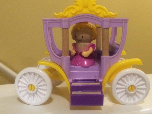 princess in a carriage