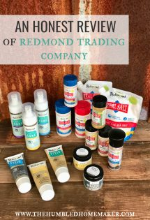 Will and I have been using Redmond Life products in our home for close six to seven years now.
