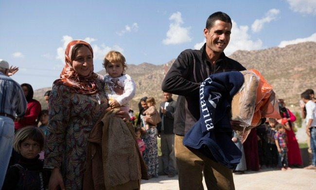 samaritan's purse helping in iraq