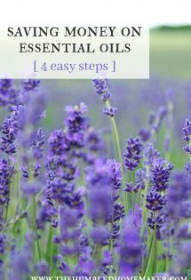 Saving Money on Essential Oils: 4 Easy Steps
