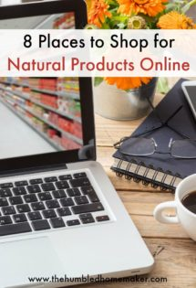 Shop for natural products online.