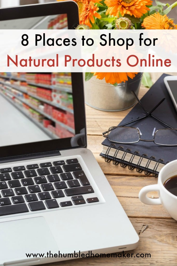 Over the years, I've grown to LOVE shopping online--especially shopping for natural living products online! In thispost, I outline the 8 placeswhere I personally shop online. Theseonline shopping venues have made my life so much easier--and have saved me money aswell!