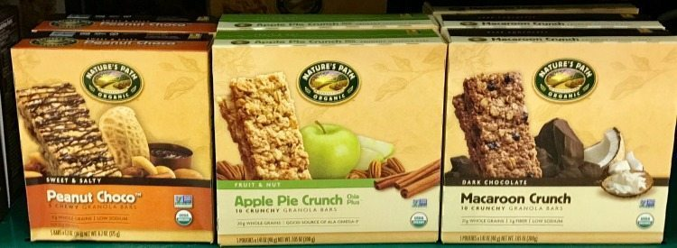 Kroger has a wide variety of healthy food, like granola bars.