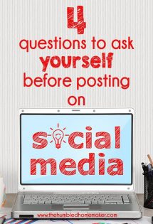 4 Questions to Ask Yourself Before Posting on Social Media