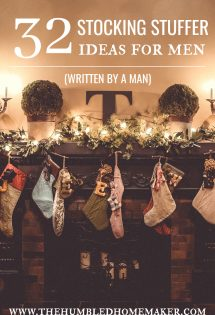 Sometimes the men in your life can be difficult to buy for, especially when it comes to filling the infamous Christmas stocking. However, it doesn't really have to be all that difficult. #ChristmasGiftIdeas #XmasStockings #StockingStuffers