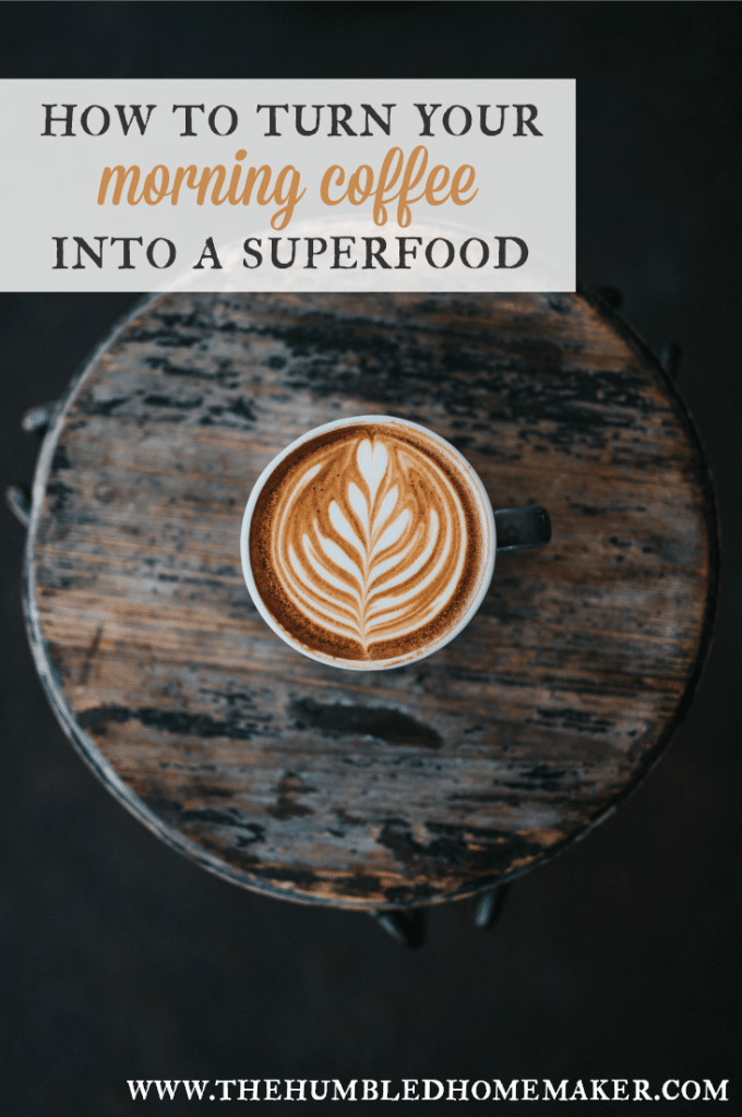 This isn't your ordinary latte! With just a few ingredients, you can turn your morning coffee into a superfood that will fuel you up for the day! Even better than bulletproof coffee!