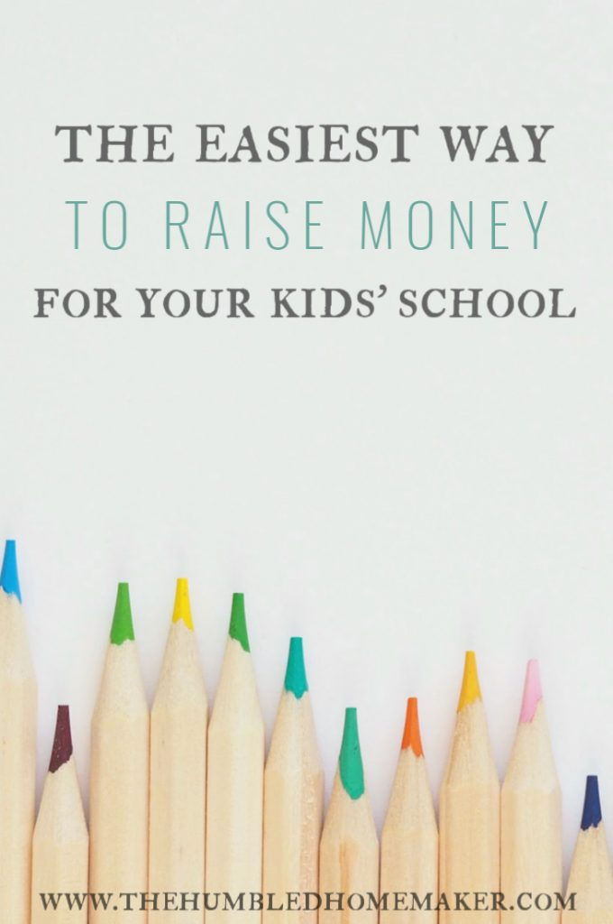 This might just be the easiest way to raise money for your kids' school! You can do it without spending anything extra!