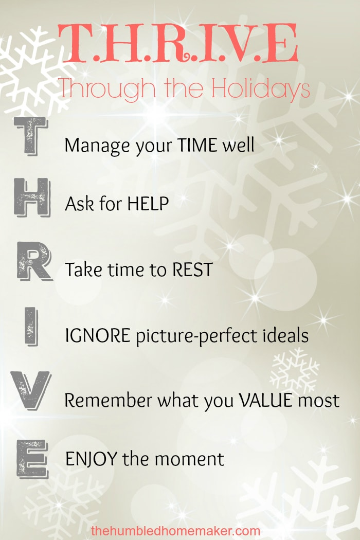 A stress-free Christmas may seem like an impossibility. But you CAN thrive through the holidays, thanks to these 6 secrets!