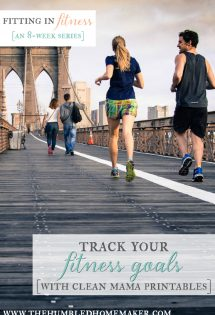 Track Your Fitness Goals with Clean Mama Printables {Review & Giveaway!}