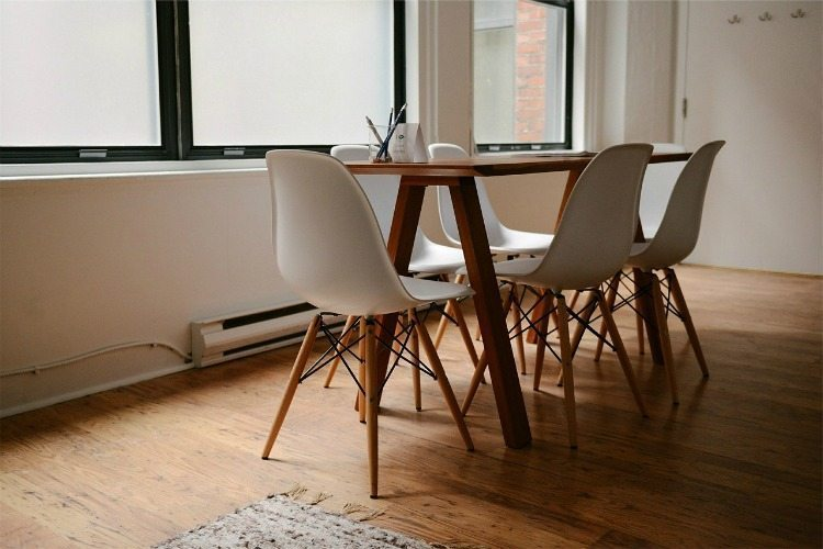 Organized Dining Room
