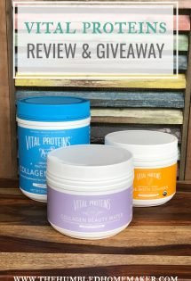 vital proteins review and giveaway