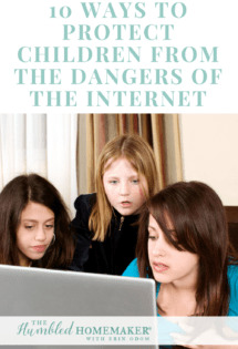 Our children are literally saturated with an online culture. And we can't get advice from the generation before us about how to protect them from it.