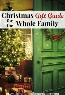 This complete Christmas gift guide for the whole family, includes gift ideas for everyone on your list. And even better, you can buy them all online to help take the stress out of holiday shopping!
