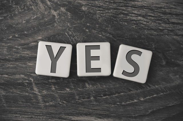 Saying yes and saying no